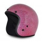 DOT CLASSIC 3/4 OPEN FACE METAL FLAKE PINK